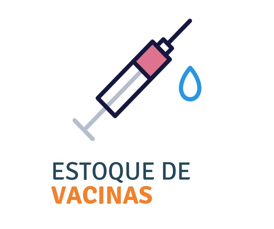 estoque de vacinas